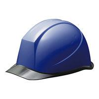 ミドリ安全 ヘルメット PC(ポリカーボネート) ブルー/スモーク 頭囲/55cm~62cm SC-11PCL RA 1個 (直送品)