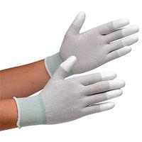 ミドリ安全 静電気拡散性手袋 MCGー801  指先コーティング M 10双/袋 1袋(10双入)(直送品)