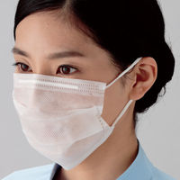 ミドリ安全 防塵 衛生マスク K-104(耳掛け) 1セット(3000枚:100枚×30箱)(直送品)