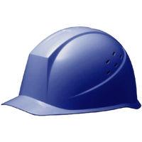 ミドリ安全 ヘルメット PC(ポリカーボネート) ブルー 特大サイズ 頭囲/58cm~65cm SC-12PV LL-T RA KP付 #4 1個 (直送品)