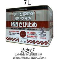エスコ(esco) 7.0L [油性]錆止め塗料(赤さび) 1缶(7000mL) EA942ED-31(直送品)