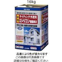 エスコ(esco) 16 kg 水性・外壁サイディング塗料(アイボリー) 1缶(16000g) EA942EF-24(直送品)