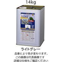 エスコ(esco) 14kg 水性・コンクリート床塗料(ライトグレー) 1缶(14000g) EA942EH-12(直送品)