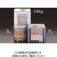 エスコ(esco) 7.0L 水性・路面標示塗料(黄) 1缶(7000mL) EA942EH-72(直送品)