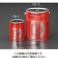 エスコ(esco) 800g 耐熱塗料(半艶・銀) 1缶(800g) EA942FB-1(直送品)