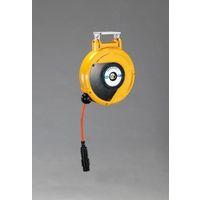 エスコ(esco) 6.5mmx10m エアーホースリール(自動巻取) 1個 EA124BK-6.5A(直送品)