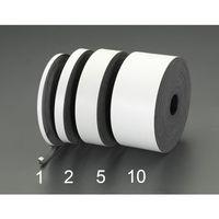 esco(エスコ) 50x3mmx10m[粘着付]ゴム板(天然ゴム) EA997XH-5 1巻(10m) (直送品)