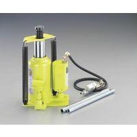 エスコ(esco) 20 ton/244-476mm 油圧ジャッキ(エアーコントロール) 1台 EA993CE-20(直送品)