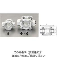 """エスコ(esco) PT3/8""""[透視式]サイトグラス(ステンレス製) 1個 EA469SC-3(直送品)"""