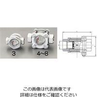 """エスコ(esco) PT1/2""""[フラッパー式]サイトグラス(ステンレス製) 1個 EA469SD-4(直送品)"""