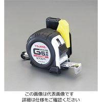 エスコ(esco) 25mmx7.5mメジャー(ステンレス製/ホルダー付) 1個 EA720JF-575 (直送品)