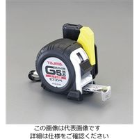 esco(エスコ) メジャー(ステンレス製/ホルダー付) 25mm幅×7.5m EA720JF-575 1個 (直送品)