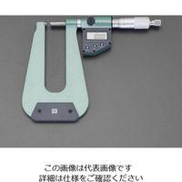 エスコ(esco) 0-25mm/310m マイクロメーター(デジタル/深型) 1個 EA725EH-39(直送品)