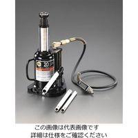 エスコ(esco) 20 ton/250-480mm 油圧ジャッキ(エアーコントロール) 1台 EA993CJ-2(直送品)