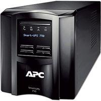 シュナイダーエレクトリック APC SmartーUPS 750 LCD 100 V 5年保証 SMT750J5W 1式 (直送品)