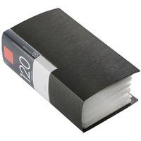 バッファロー CD&DVDファイルケース ブック タイプ 120枚収納 ブラック BSCD01F120BK 1個 (直送品)