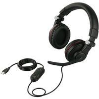 バッファロー ゲーミングヘッドセット 両耳ヘッドバンド式 5.1 chサラウンドシステム ブラック BSHSUH05BK 1個 (直送品)