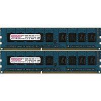 センチュリーマイクロ サーバー/WS用 PC3-12800/DDR3-1600 8GBキット(4GB 2枚組) DIMM ECC付 日本製 CK (直送品)