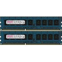 センチュリーマイクロ サーバー/WS用 PC3-12800/DDR3-1600 16GBキット(8GB 2枚組) DIMM ECC付 日本製 C (直送品)