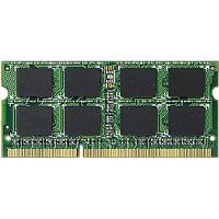 エレコム RoHS対応 DDR3-1600(PC3-12800) 204pin S.O.DIMMメモリモジュール/4GB EV1600-N4G/ (直送品)