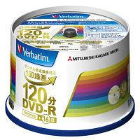 三菱化学メディア DVDーR(CPRM) 録画用 120分 1ー16 倍速 50枚 インクジェット対応ホワイトレーベル VHR12JP50V4 1 (直送品)