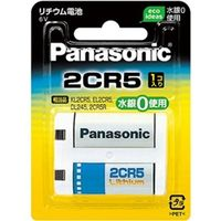 パナソニック カメラ用リチウム電池6V 2CR-5W 1台 (直送品)