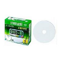 マクセル データ用1ー16倍DVDーR4.7GB10枚パック 1枚ずつPケース入プリンタブル DR47WPD.S1P10S A 1パック (直送品)