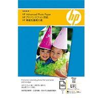 HP(ヒューレット・パッカード) アドバンスフォト用紙(光沢)L判 100枚 Q8865A 1個 (直送品)
