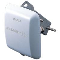 バッファロー 〈AirStation Pro〉 5.6GHz/2 .4GHz無線LAN 屋外遠距離通信用 平面型アンテナ WLE-HG-DA/AG (直送品)