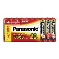 パナソニック アルカリ乾電池単四形 20本入り LR03XJ/20SW 1個 (直送品)