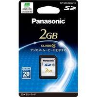 パナソニック 2GB SDメモリーカード RP-SDL02GJ1K 1枚 (直送品)