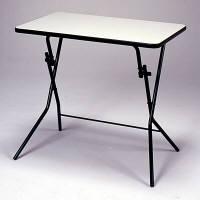 ルネセイコウ スタンドタッチテーブル メラミン天板タイプ  ニューグレー/ブラック 幅750×奥行500×高さ700mm 1台 (直送品)