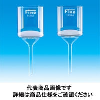 東京硝子器械 Fineガラスろ過器 ブフナー型 151G3 000ー09ー41ー75 1個 (直送品)