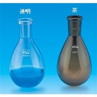東京硝子器械 Fine透明共通なす型フラスコ茶300mL 29/42 000ー13ー58ー22 1個 (直送品)