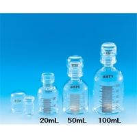 東京硝子器械 共通標準試薬保存容器 透明 100mL  284-05-28-03 1個 (直送品)