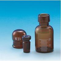 東京硝子器械 共通標準試薬保存容器 茶色 20mL  284-05-28-04 1個 (直送品)