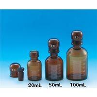 東京硝子器械 共通標準試薬保存容器 茶色 50mL  284-05-28-05 1個 (直送品)