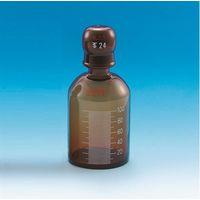 東京硝子器械 共通標準試薬保存容器 茶色 100mL  284-05-28-06 1個 (直送品)
