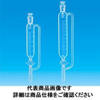 東京硝子器械 透明円筒分液側管目付50mL 15ー15 330ー13ー74ー93 1個 (直送品)