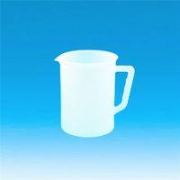 東京硝子器械 Fine手付ビーカー 1L PE 416ー01ー13ー02 1個 (直送品)