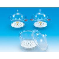 東京硝子器械 Fine デシケーター FPCー240  416-22-86-31 1台 (直送品)