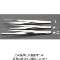 esco(エスコ) 3.0x120mm精密用ピンセット(特殊鋼スジ付) EA595A-1 1セット(4本) (直送品)