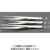 esco(エスコ) 3.5x145mm精密用ピンセット(特殊鋼スジ付) EA595A-2 1セット(4本) (直送品)