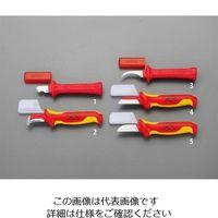 エスコ(esco) 50x190mm 絶縁電工ナイフ 1セット(3個) EA640GA-5(直送品)