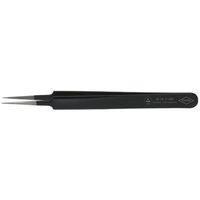 esco(エスコ) 0.5x110mm精密用ピンセット(ステンレス製ESD) EA595EE-2 1セット(2本) (直送品)