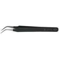 esco(エスコ) 0.5x120mm精密用ピンセット(ステンレス製ESD) EA595EE-5 1セット(2本) (直送品)