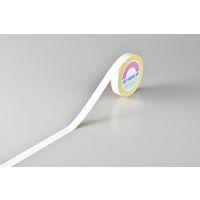 日本緑十字社 ガードテープ 再はく離タイプ 白 GTHー251W 149011 1巻 (直送品)