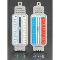 esco(エスコ) ー40/+50℃最高・最低温度計(レッド) EA728AD-5 1セット(2個) (直送品)