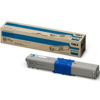 沖データ レーザートナーカートリッジ TNR-C4KC3 シアン(小容量) (直送品)