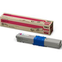 沖データ レーザートナーカートリッジ TNR-C4KM3 マゼンタ(小容量) (直送品)